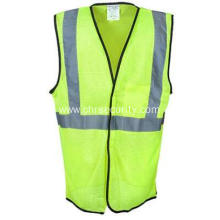 Yellow High Visibility Lightweight Mesh Safety Vest